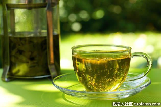 【Hình ảnh】 Tại sao trà xanh lại có tác dụng trị rụng tóc